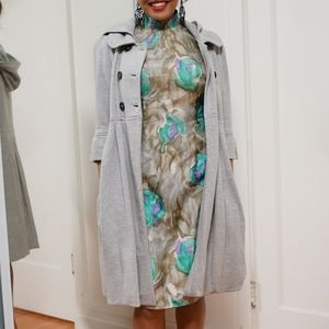 Juicy Couture Grey Trench Coat